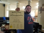 Keenan Finally Got The Certificate He Worked So Hard For