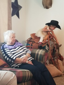 Grandmom & Kross - Thanksgiving